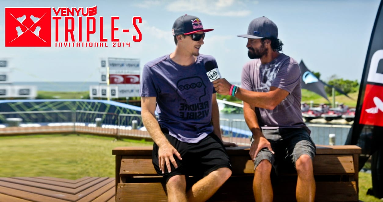 Aaron Hadlow sits down with The Kiteboarder
